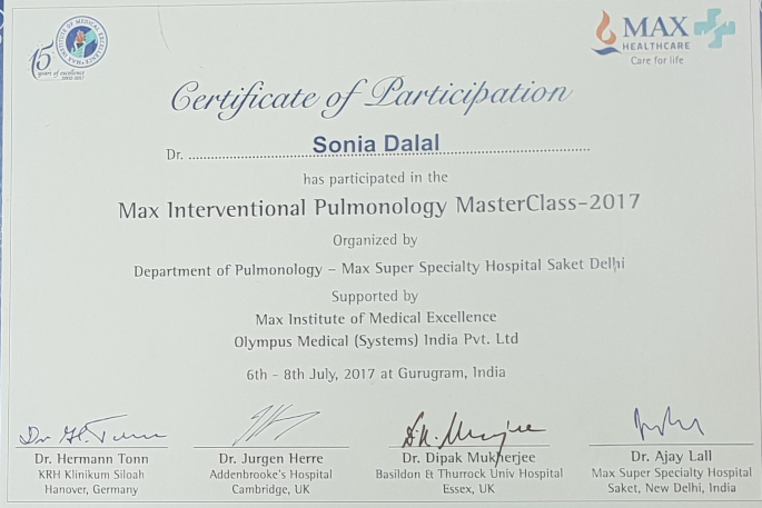 MAX INTERVENTIONAL PULMONOLOGY MASTER CLASS KALYAN CHEST CENTRE VADODARA GUJARAT
