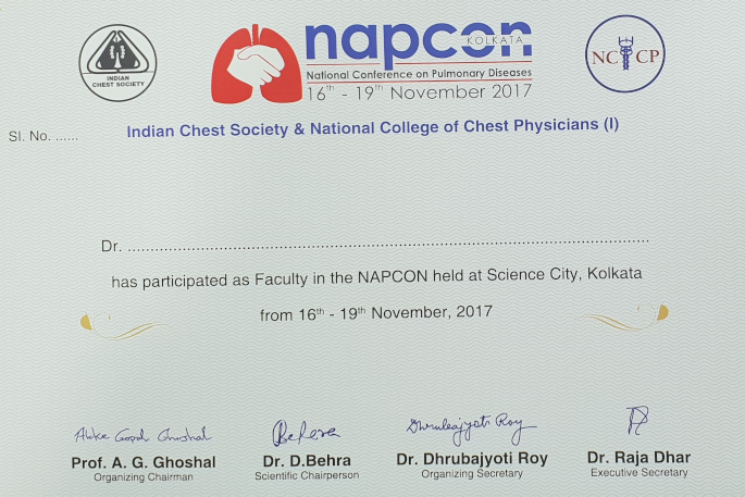 INDIAN CHEST SOCIETY & NATIONAL COLLEGE OF CHEST PHYSICIANS
