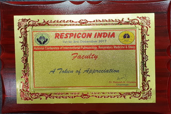 RESPICON INDIA KALYAN CHEST CENTRE VADODARA GUJARAT